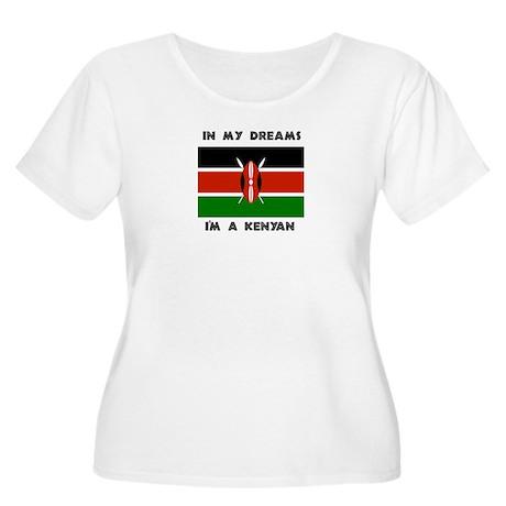 In my dreams I'm a Kenyan Women's Plus Size Scoop