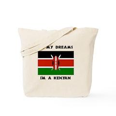 In my dreams I'm a Kenyan Tote Bag