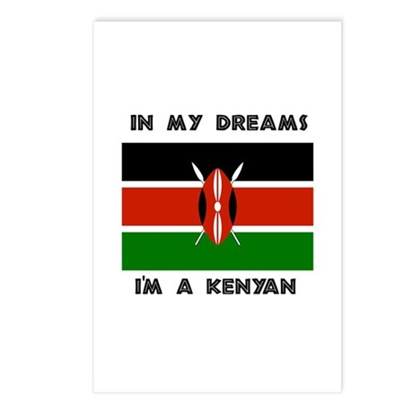 In my dreams I'm a Kenyan Postcards (Package of 8)