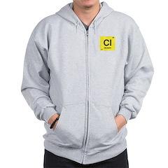 Chlorine Element Zip Hoodie