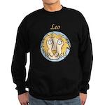 Leo Astrology 4 Sweatshirt (dark)