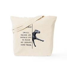 100 pounds jockey. Tote Bag