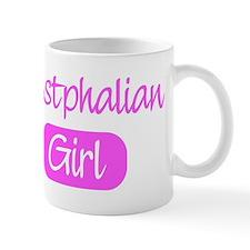 Westphalian girl Mug