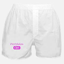Westphalian girl Boxer Shorts