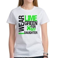 I Wear Lime Green Daughter Tee