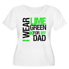 I Wear Lime Green For Dad T-Shirt