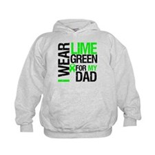 I Wear Lime Green For Dad Hoodie