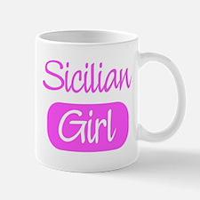 Sicilian girl Mug