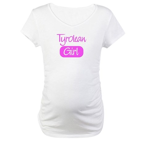 Tyrolean girl Maternity T-Shirt