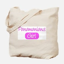 Panamanians girl Tote Bag