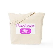 Palestinian girl Tote Bag