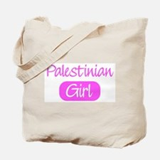 Palestinian girl Tote Bag