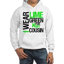 I Wear Lime Green Cousin Hoodie