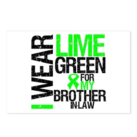 I Wear Lime Green BIL Postcards (Package of 8)