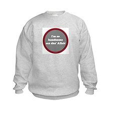Ma Sha' Allah Sweatshirt (gray + red)