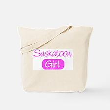 Saskatoon girl Tote Bag