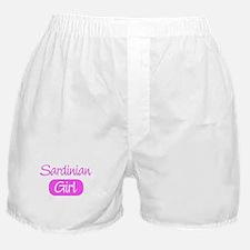 Sardinian girl Boxer Shorts