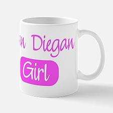 San Diegan girl Mug