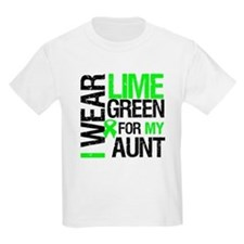 I Wear Lime Green For My Aunt T-Shirt