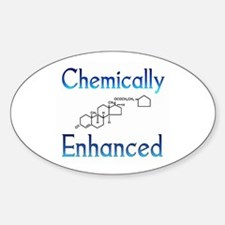 Chemically Ehanced Oval Decal
