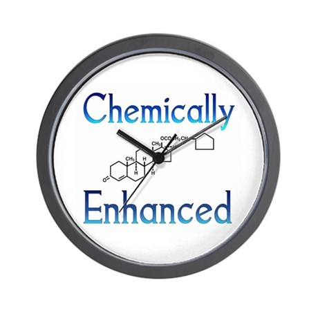 Chemically Ehanced Wall Clock