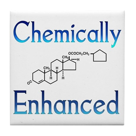 Chemically Ehanced Tile Coaster