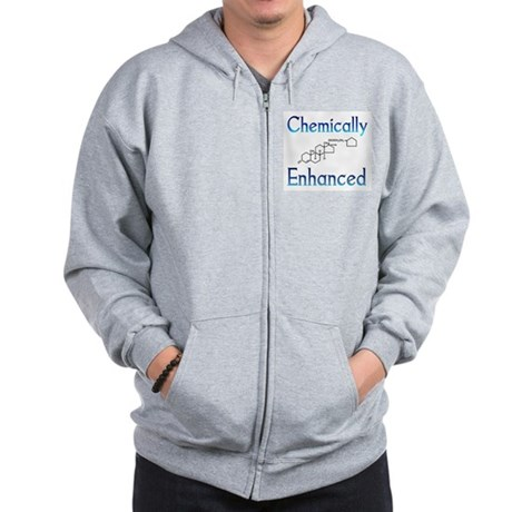 Chemically Ehanced Zip Up Hoodie