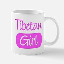 Tibetan girl Mug