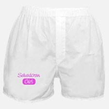 Salvadoran girl Boxer Shorts