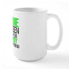 I Wear Lime Green Best Friend Mug