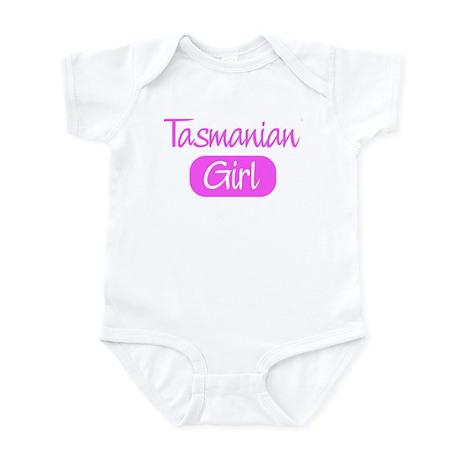 Tasmanian girl Infant Bodysuit