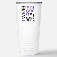 IWearPurple Wife Travel Mug