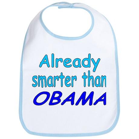 Smarter- Obama Bib