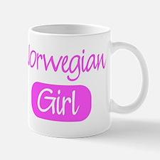 Norwegian girl Mug