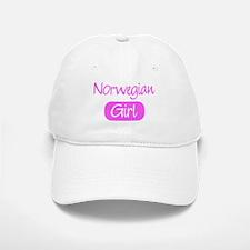 Norwegian girl Baseball Baseball Cap