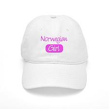 Norwegian girl Baseball Cap