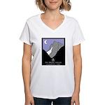 Pirate Valley ExpeditionWomen's V-Neck T-Shirt