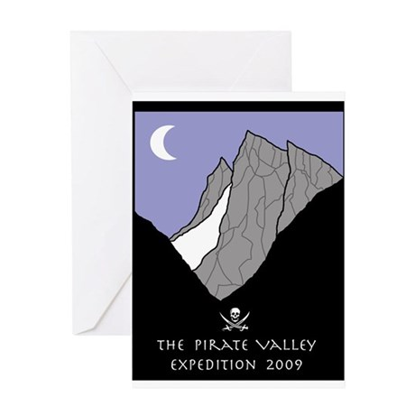 Pirate Valley Expedition Greeting Card