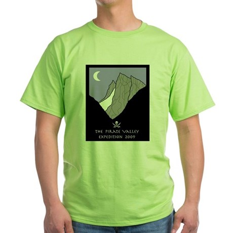 Pirate Valley Expedition Green T-Shirt