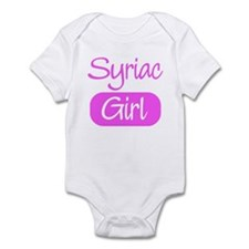 Syriac girl Infant Bodysuit