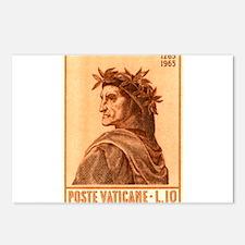 Dante 2 Postcards (Package of 8)