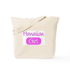 Hawaiian girl Tote Bag