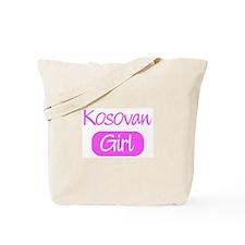 Kosovan girl Tote Bag