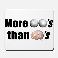 Balls & Brains Mousepad
