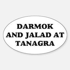 Darmok Jalad Sticker (Oval)