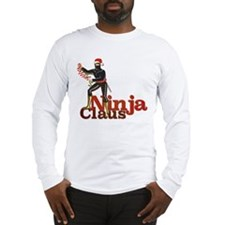 Ninja Claus Long Sleeve T-Shirt