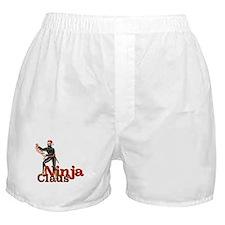 Ninja Claus Boxer Shorts