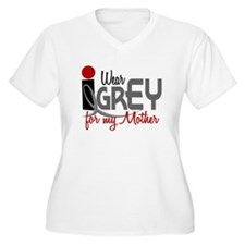 I Wear Grey For My Mother 32 T-Shirt