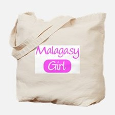 Malagasy girl Tote Bag