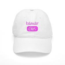 Icelander girl Baseball Cap